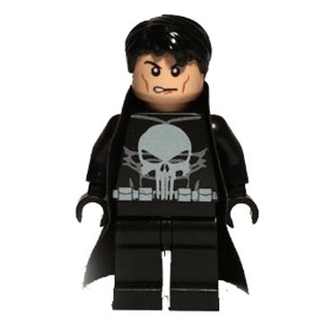 Minifigures Punisher Frank Castle Super Heroes Marvel Brixplanet