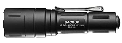 Surefire Backup Tactical Switch Dual Output LED Flashlight by SureFire