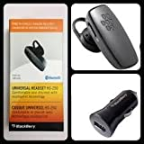 Genuine Blackberry HS-250 Wireless Bluetooth Handsfree Works With Blackberry 8220 Pearl, 8520 Curve, 8900 Curve, Bold 9700, Bold 9780, 9790, 9900 Bold , Curve 3G 9300, Curve 9360, Curve 9380, Pearl 3G