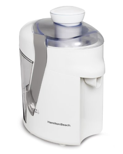 Hamilton Beach 67804 Health Smart Juice Extractor, White