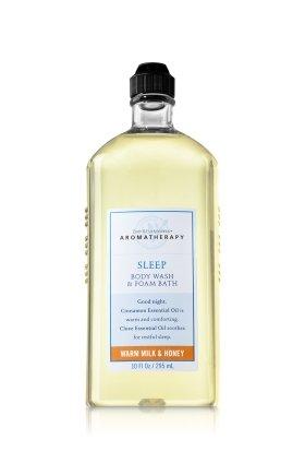 バス&ボディワークス アロマセラピー スリープ ウォームミルク & ハニーウォッシュ&フォームバス Aromatherapy Sleep Warm Milk & Honey Body Wash & Foam Bath