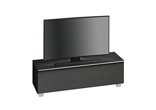 maja-muebles-de-tv-tarjeta-sonido-tarjeta-sonido-concept-cuerpo-negro-cristal-mate-tela-acustica-neg