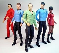 Buy Low Price Art Asylum Star Trek Classic Series 1 (5) Figure Set by Art Asylum (B000LBA00I)