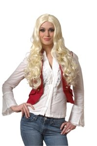 Sultry Wig (blonde) Adult Economy Halloween Costume Accessory