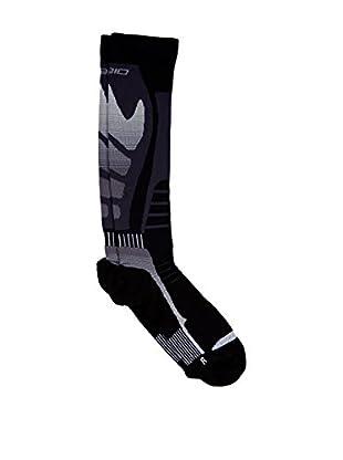 SPAIO Calcetines Deportivos Unisex Effort Compression (Negro / Gris)
