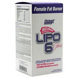 Nutrex Lipo-6 Hers Multi-Phase Fat Burner