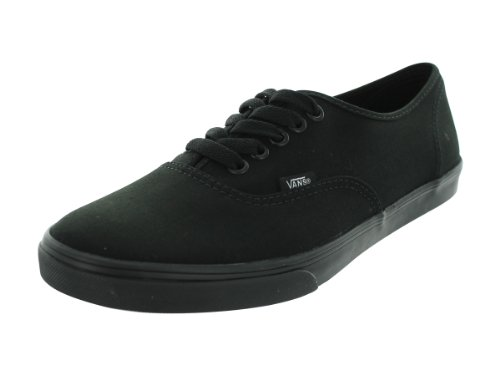 Vans WoVANS AUTHENTIC LO PRO SKATE SHOES 8.5 (BLACK/BLACK)