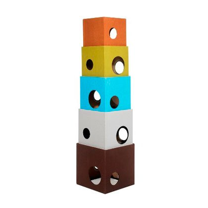 Bowsers Cat Tower - Cool Hues