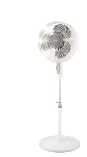 KUL  54-Watt 3-Speed Showerproof Tall Oscillating