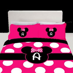 Coupon For Personalized Hot Pink Minnie Mouse Bedding Set - Coupon ...