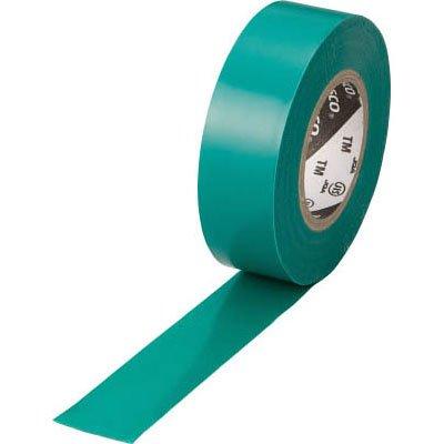 TRUSCO 脱鉛タイプ ビニールテープ 19×10m グリーンTM1910GN1P