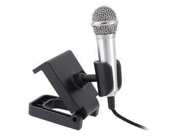 3.5 Mm Mini Microphone For Notebook Computers (Silver) front-226041