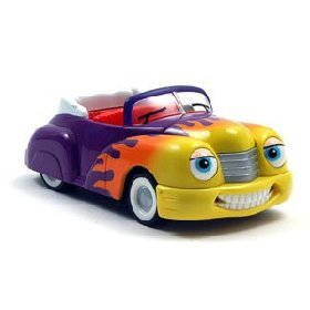 Amazon.com: Chevron Cars Hank Hot Rod Convertible with Whitewall Tires