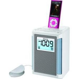 Ipod Dock Clock Radio with shaker