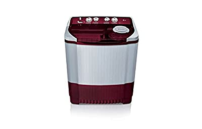 LG P8239R3SA Semi-automatic Top-loading Washing Machine (7.2 Kg, Burgundry)