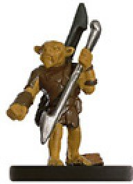 D & D Minis: Goblin Picador # 34 - Dungeons of Dread - 1