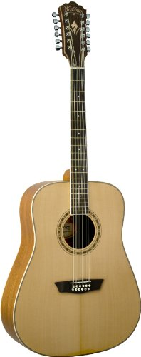 Washburn WD10S12 12-String Dreadnought Acoustic Guitar