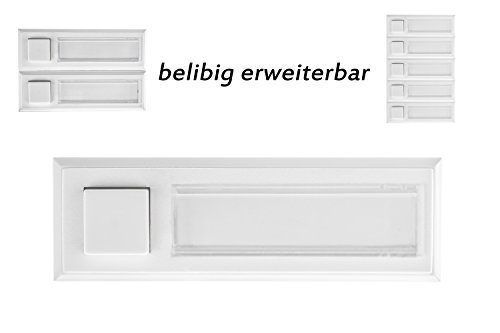 huber-campanello-12105-1-tasto-sopra-intonaco-illuminato-rettangolare-in-polistirolo