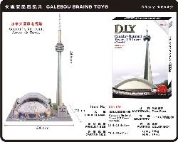 Cheap CALEBOU 3D 3D Canada's Nation Tower CN Tower 3 D Puzzle (B004VB3ORK)
