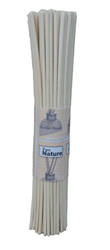 Pure Source Reed Sticks 7 Inch 100 Pcs In One Bunch To Use For Reed Diffuser Oil (100)
