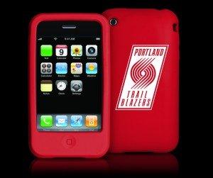 Tribeca Portland Trailblazers Iphone 3g / 3gs Silicone Case