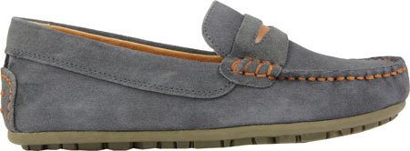 umi David II Loafer (Little Kid/Big Kid), Dark Gray, 32 EU(1 M US Little Kid)