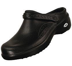 Natural Uniform Comfortable Lightweight Nurse Nursing Slip Clogs Black 8