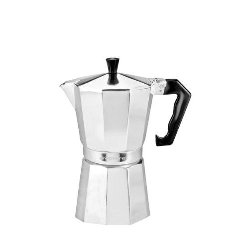 Ovente Mpa03 3-Cup Stovetop Aluminum Espresso Maker