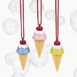 ICE CREAM CONE BUBBLE NECKLACE (1 DOZEN) - BULK - 1