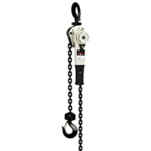 JET JLH-320-20PSH 3.2-Ton Lever Hoist with 20-Feet Lift and Point Hooks