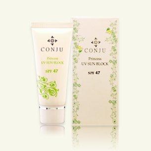 コンジュプリンセスUVサンブロック 30ml 白く残らない・最大12時間持続。肌がよろこぶ、なめらかでやさしい使用感