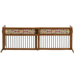 Mission Aztec Freestanding Pet Gate By Richell