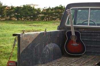 yamaha fg730s acoustic guitar vintage cherry sunburst instruments sale. Black Bedroom Furniture Sets. Home Design Ideas