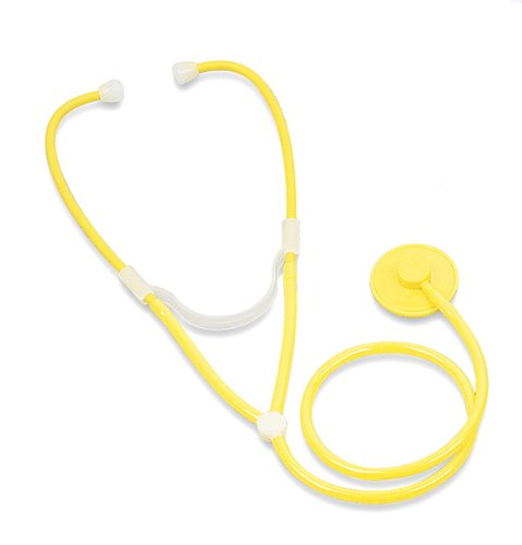 Cheap Disposable Stethoscope in Yellow (MDS9543)