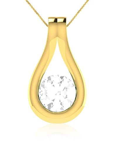 Art Of Diamond Collana WhiteSapp Yellow Gold