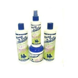 Mane 'n Tail Herbal Gro 4 pc Shampoo Kit (Mane N Tail Shampoo Conditioner compare prices)