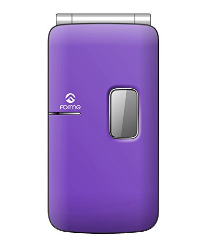 Forme S700 Dual Sim Cell Phone (White+Purple)