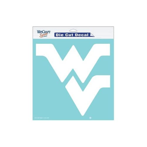 West Virginia Mountaineers 8 X 8 Die Cut Decal