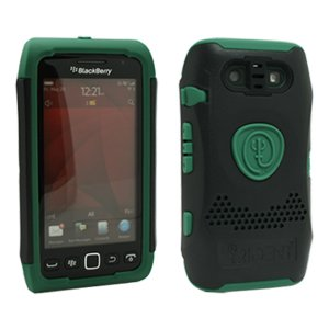 Trident Case Ag-Bb-9850-Bg Aegis Series For Blackberry 9850/9860 - Ballistic Green - 1 Pack - Carrying Case - Retail Packaging