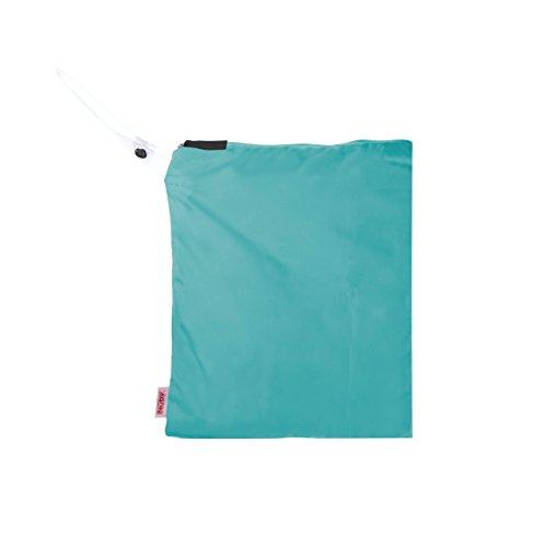 NUBY Washable Wet Bag, Green - 1