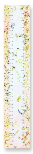 The Kids Room by Stupell Flowers and Butterflies Growth Chart