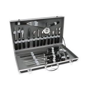 Malette valise professionnelle de couteaux pour cuisiniers - Malette de couteaux pradel excellence 25 pieces ...