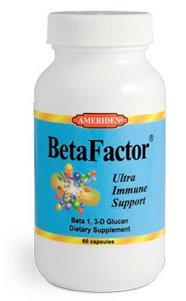 BetaFactor - Beta 1, 3-D Glucan Immune System Booster/Stimulant - 60 caps : GOOD HEALTH NATURALLY