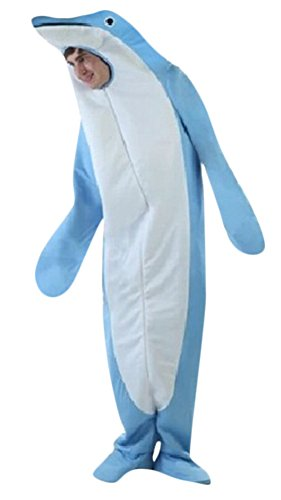 Ace Halloween Unisex Adult Deluxe Funny Animal Dolphin Costumes