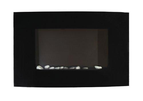 Meridian Point EFW-1/2346 1500-Watt Arched Glass Electric Fireplace, Black photo B00B1G7CV2.jpg
