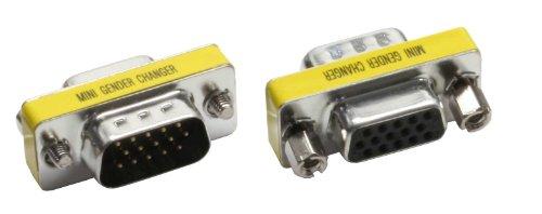 InLine Mini Gender-Changer Adapter HD15 / Stecker - HD15 / Buchse