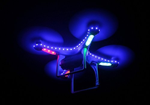 Makerfire® DJI Phantom 2 Phantom 2 Vision Phantom 2 Vision+ Quadcopter LED Lamps Strip (Blue) - 1