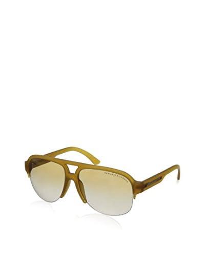 Armani Exchange AX4019S-8079-6E-58 Women's Sunglasses, Transparent/Gold-Tone Gradient, One Size
