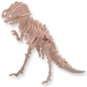Puzzled Tyrannosaurus Woodcraft Construction Kit