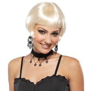 20s Fresh Flapper Wig (Blonde) Adult Accessory